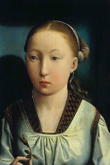 Juan de Flandes, portret van een infante