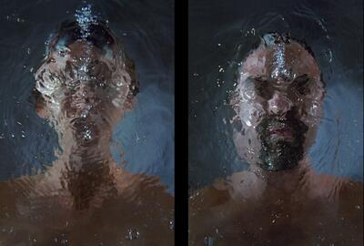 Bill Viola, Purification, Brussels Museum